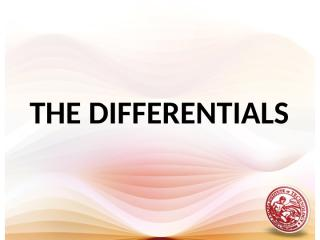 L15 The Differentials & Parametric Equations.ppt