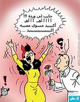 كاريكاتير عن المراة بس لا يفوتوا الشباب اوعى 7_online