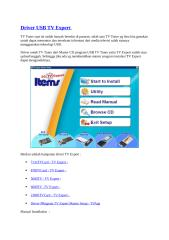 Driver USB TV Expert.docx