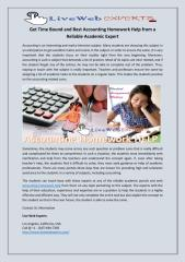 Get Time Bound and Best Accounting Homework Help from a Reliable Academic Expert.pdf