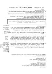 II   דף חזרה בתורה     שמות פרקים א-ד.doc