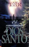 El Conocimiento del Dios Santo.pdf