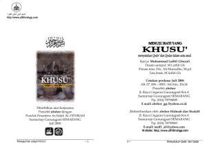 menuju hati yang khusu' - muhammad luthfi ghozali (via abshor).pdf