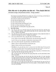 TCVN 5307-1991 Kho dau mo va sp cua dau mo - Tieu chuan t.ke.pdf