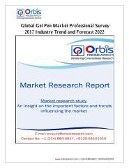 Global Gel Pen Market Professional Survey 2017 Industry Trend and Forecast 2022.pdf