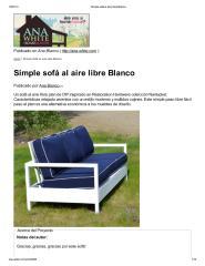 Simple sofá al aire libre Blanco.pdf