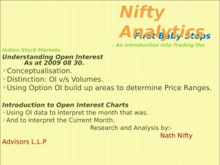 First Baby Steps - Open Interest.ppt