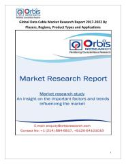 Global Data Cable Market Research Report 2017-2022 By Players, Regions, Product Types and Applications.pdf