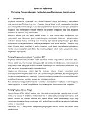TOR - Workshop pengembangan Kurikulum SIF.doc