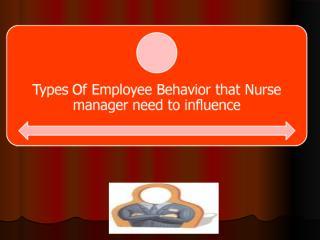 typesof employee behavior.ppt